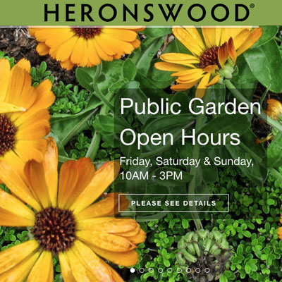 Heronswood Garden, Community Involvement